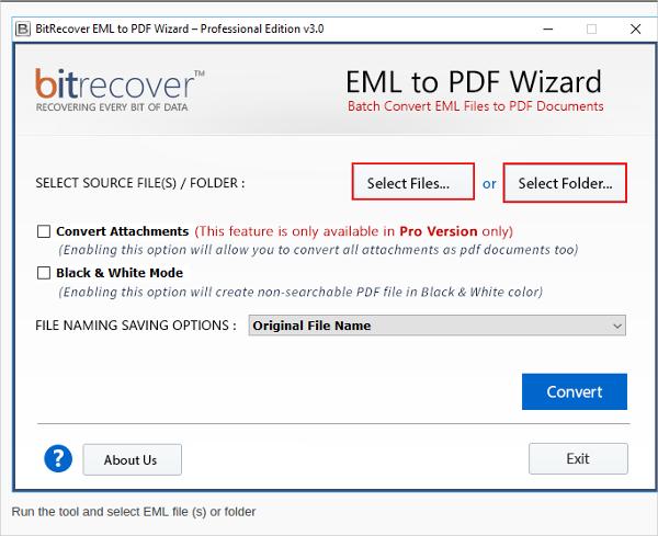 eml to pdf wizard