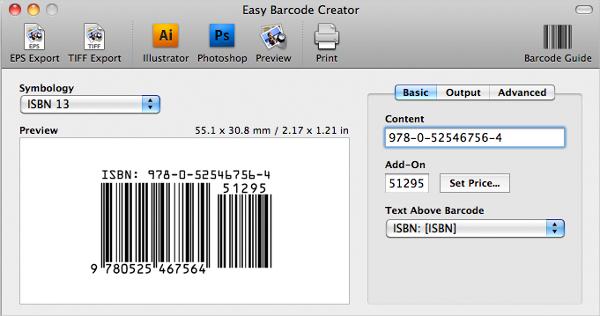 easy barcode creator 3