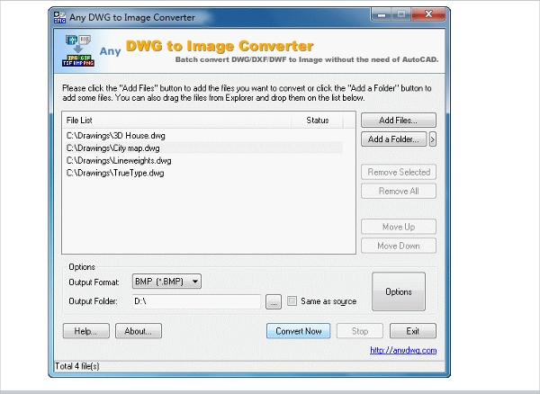easy dwgdxf to image converter