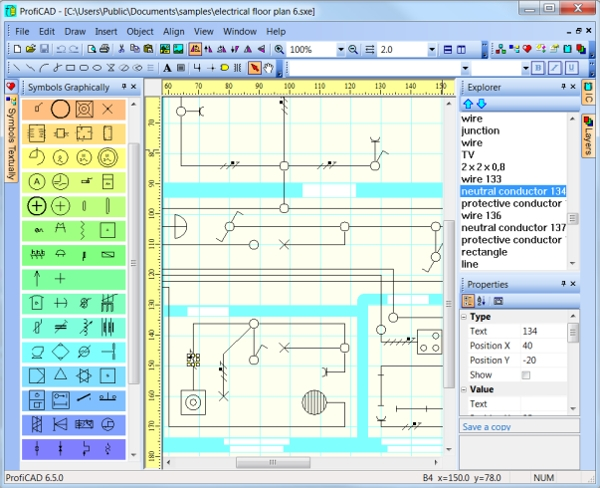 6 best wiring diagram software free download for windows mac android downloadcloud. Black Bedroom Furniture Sets. Home Design Ideas