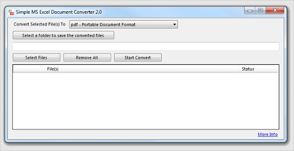 excel documents converter