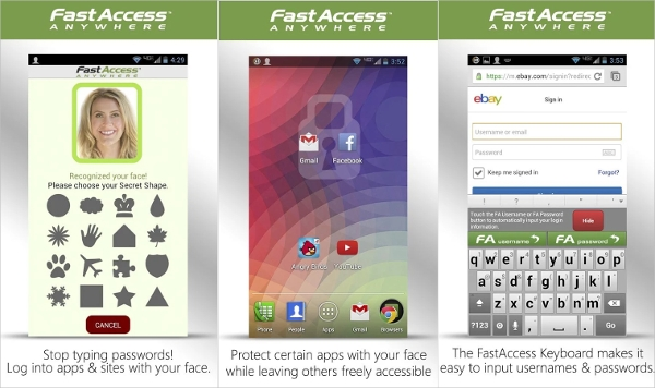 face recognition fastaccess