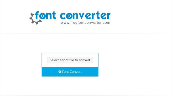 fontconverting