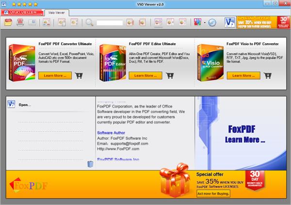 fox pdf vsd viewer