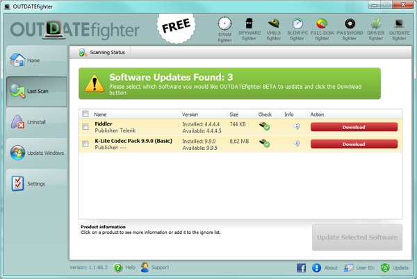 free software updater for your pc