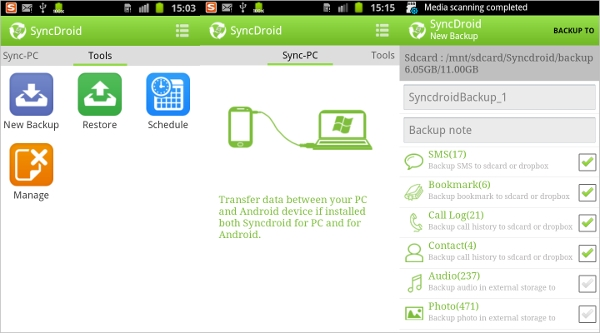 free syncdroid