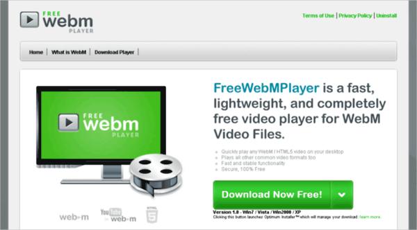 free webmplayer