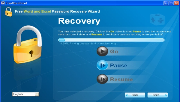 free word password excel password recovery software