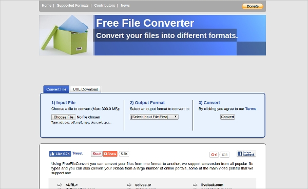What are some free file converters?