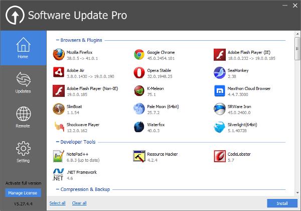 glarysoft software update1