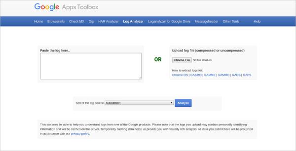 google app box