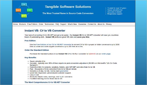instant vb c to vb converter
