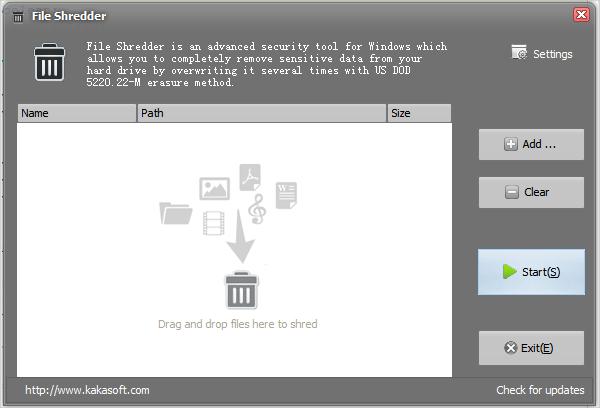 kakasoft file shredder