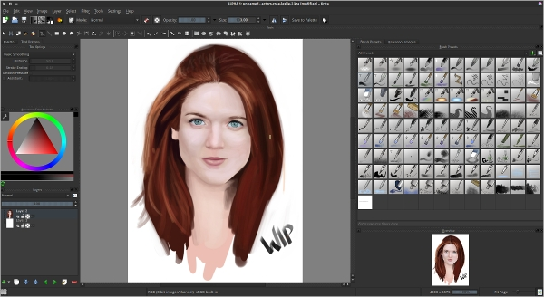 6 best digital painting software free download for for Paint software for mac