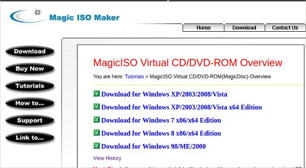 magiciso virtual cddvd rom