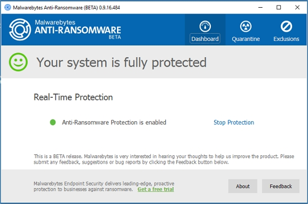 malwarebytes anti ransomware beta