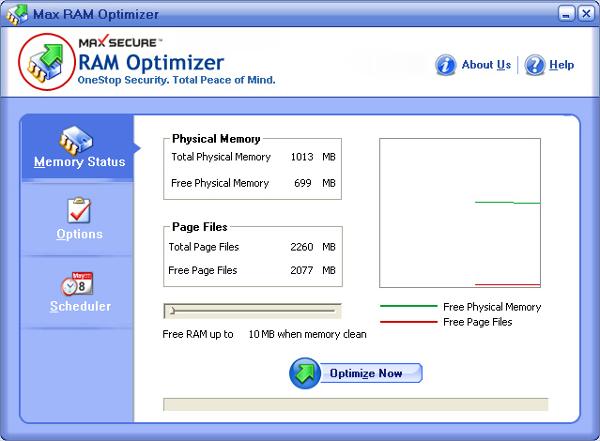 max ram optimizer