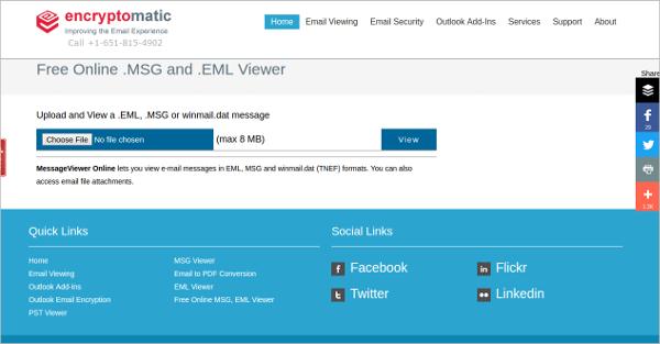 messageviewer online