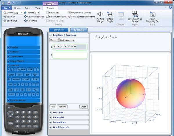 microsoft mathematics 4