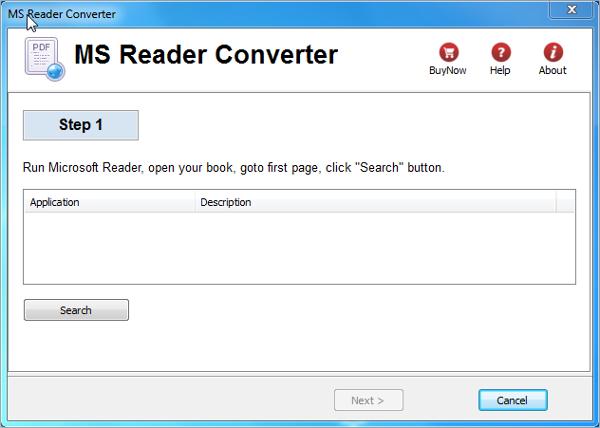 microsoft reader converter