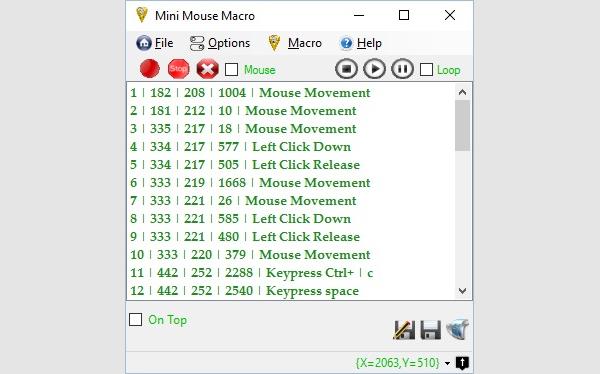 mini mouse macro