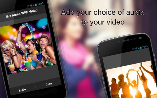 mix audio with video1