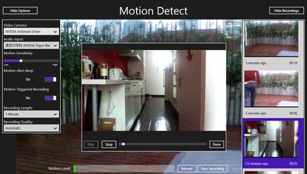 motion detect