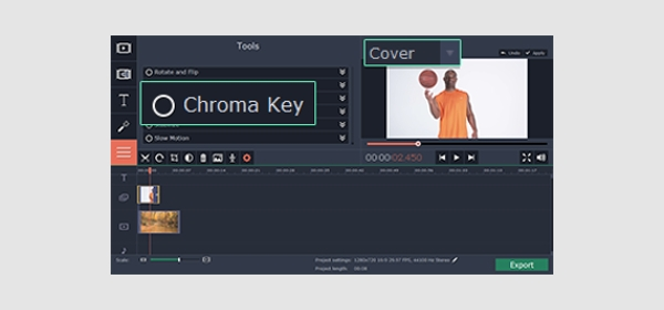 movavi chroma key software