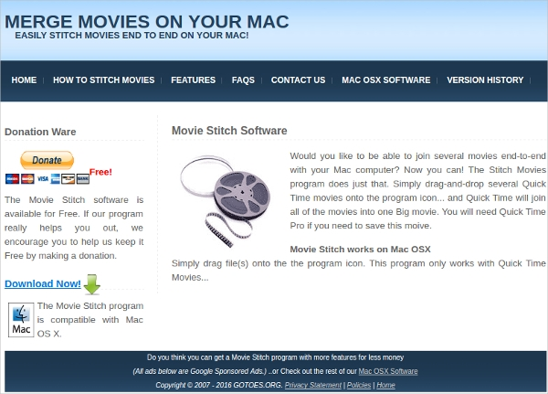 movie stitch software