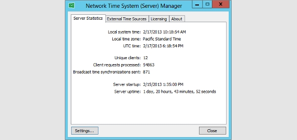 ntp server for windows
