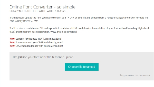 6+ Best OTF to TTF Converter Free Download For Windows, Mac, Android