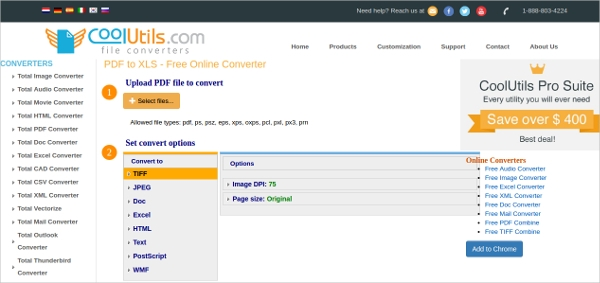 pdf file to convert