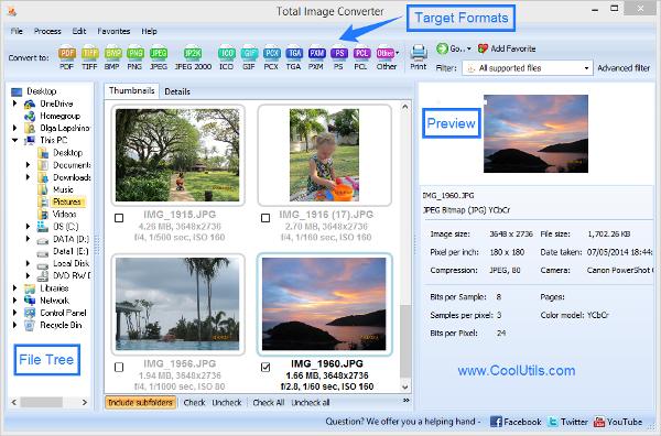pentax image converter
