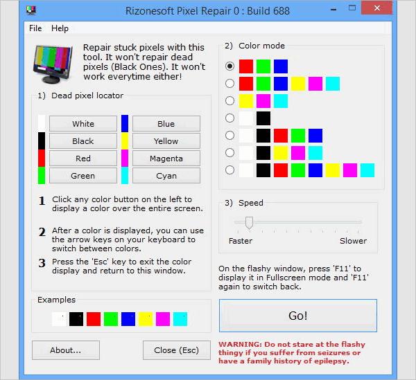 pixel repair