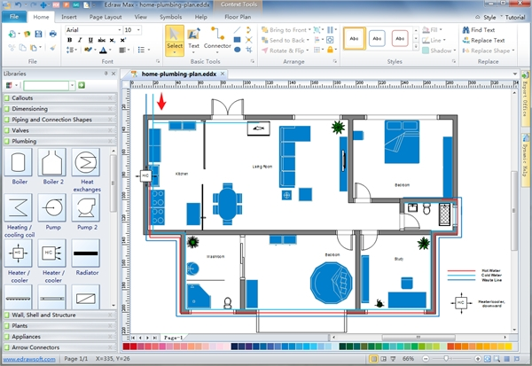 6 plumbing design software free download for windows mac for Free building layout software