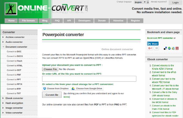 powerpoint converter