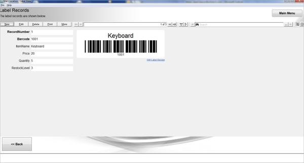 print barcode and rfid labels