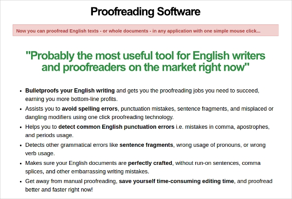 proofreading software