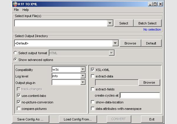 rtf to html converter