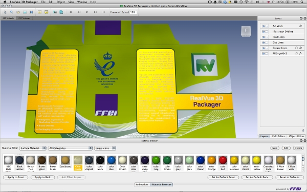 realvue 3d packager