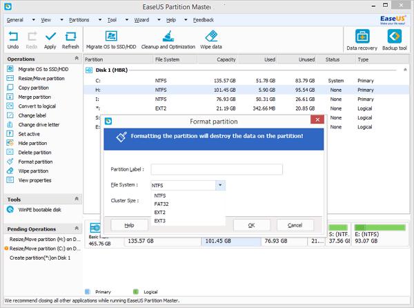 sandisk format tool