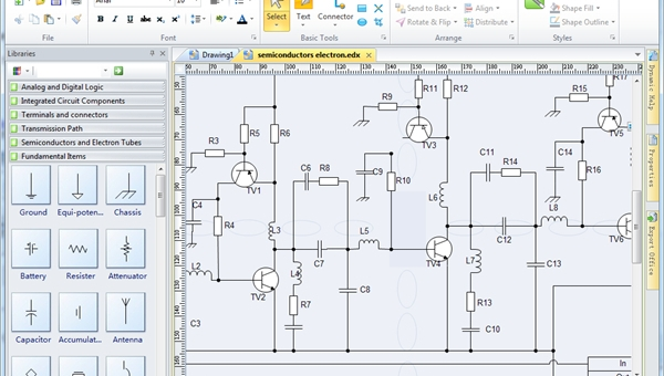 Luxury Schematic Drawing Software Mac Pattern - Electrical Circuit ...