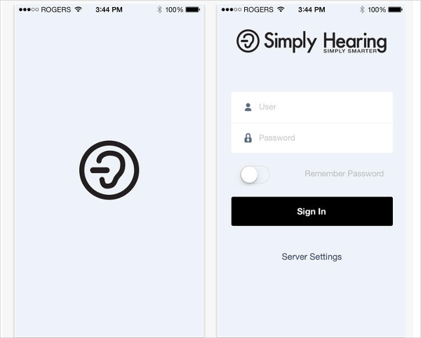 simply hearing mobile