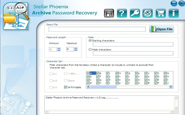 stellar phoenix archive password recovery