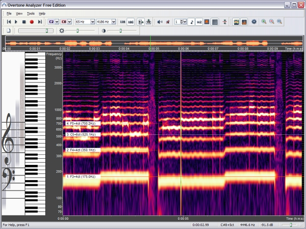 software spectrum analyzer free