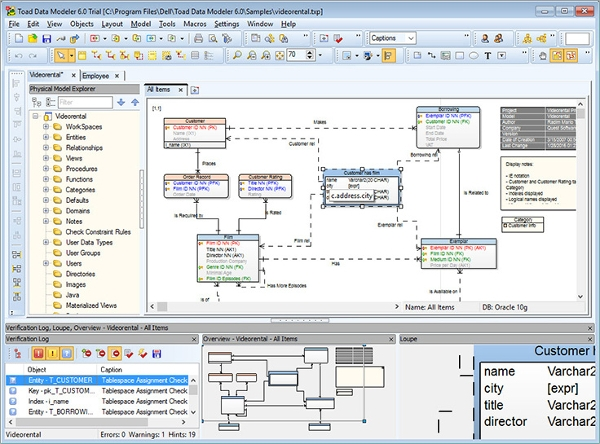 6 best data modeling tools free download for windows mac linux most popular data modeling tool toad data modeler ccuart Gallery