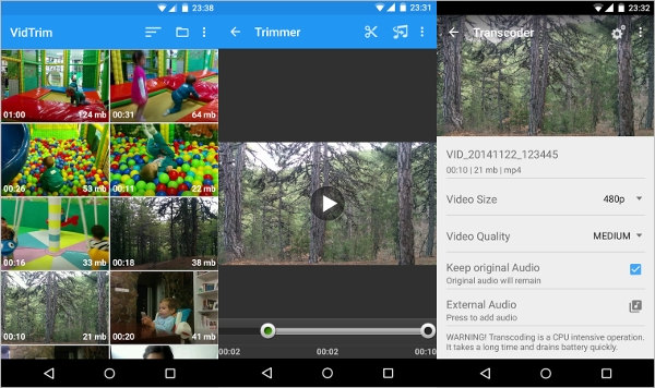 vidtrim video editor