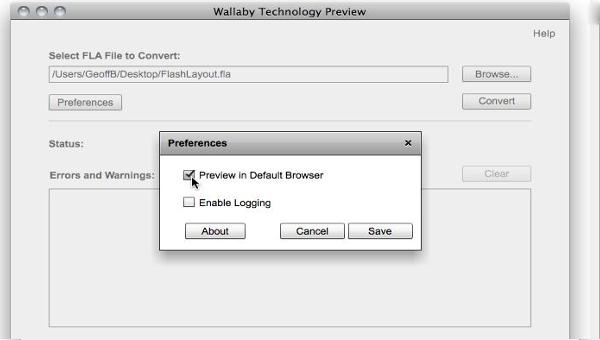 wallaby converter