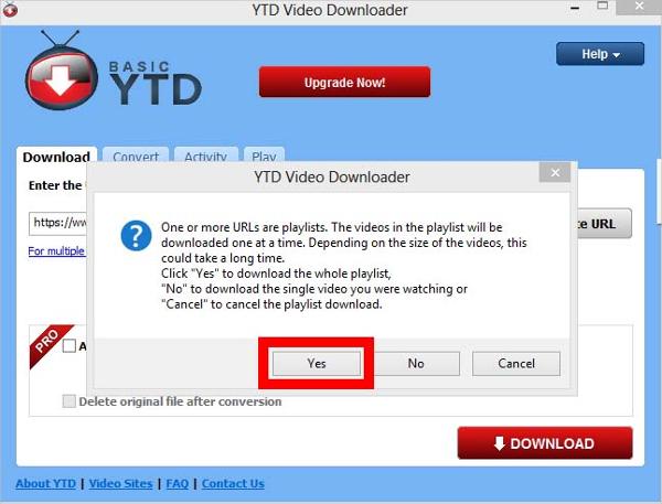 ytd video downloader and converter