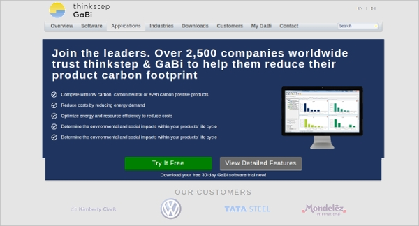 thinkstep gabi software